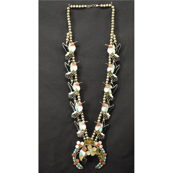 ZUNI INDIAN NECKLACE (WESLEY & ELLA L GIA)