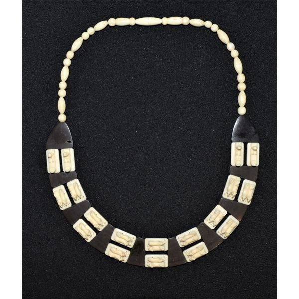 INUIT INDIAN IVORY NECKLACE