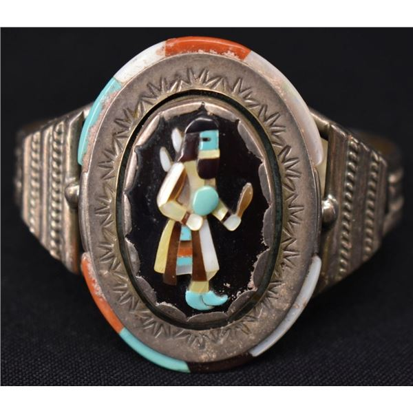 ZUNI INDIAN BRACELET ( RONNIE & OLIVIA CALABAZA)
