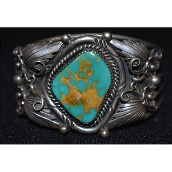 NAVAJO INDIAN BRACELET (JAMES M HALEY)