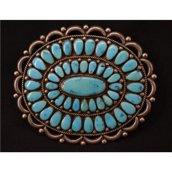 ZUNI INDIAN BUCKLE (ALICE QUAM)