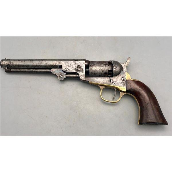 """Antique Model 1849 Colt Pistol With 6"""" Barrel"""