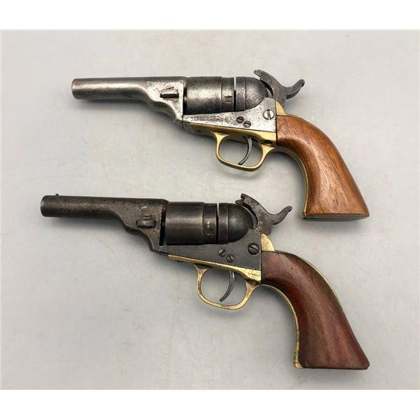 Two Antique Model 1862 Colt Conversion Revolvers