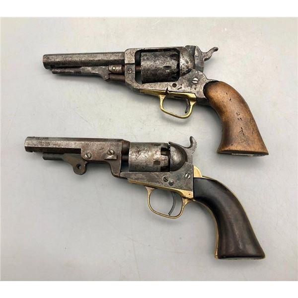 2 Antique Model 1849 Colt Pocket Pistols