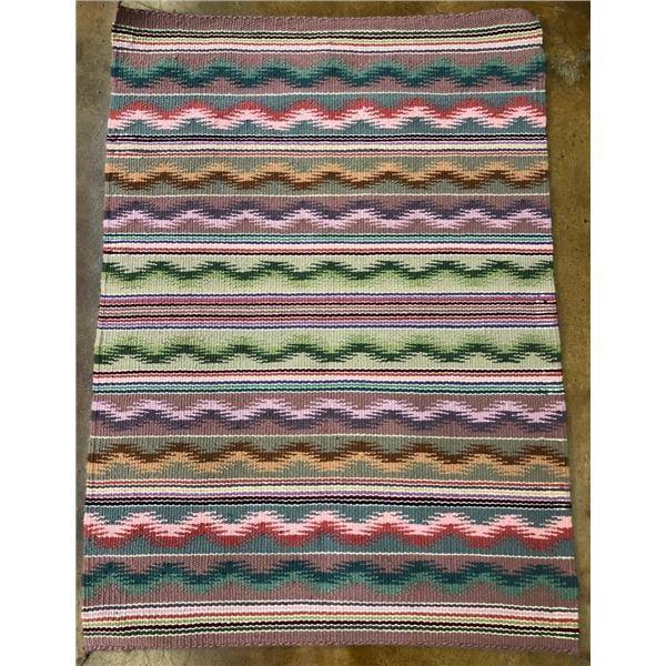 Colorful Handmade Navajo Textile