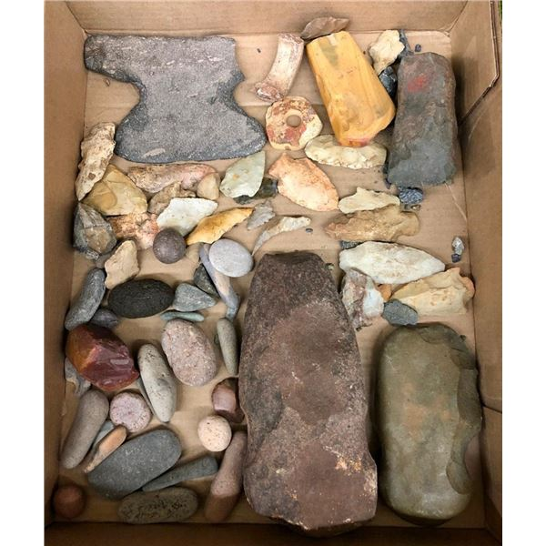 Group of Miscellaneous Prehistoric Artifacts
