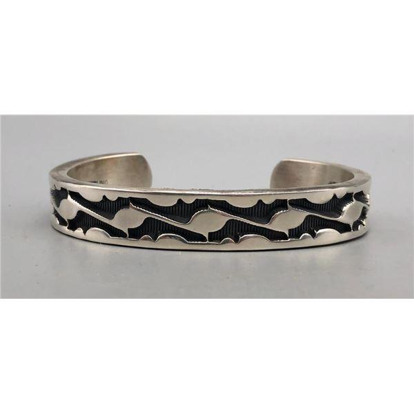 Heavy Sterling Silver Bracelet by Tahe