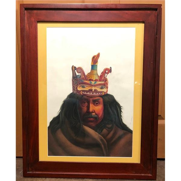 Northwest Coast Gouache Artwork