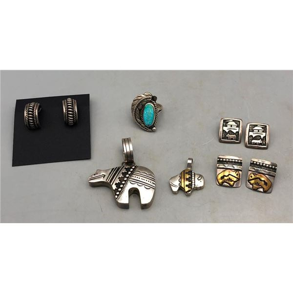 Group of Tommy Singer and Other Jewelry