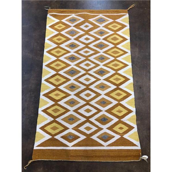 Vintage Navajo Double Saddle blanket