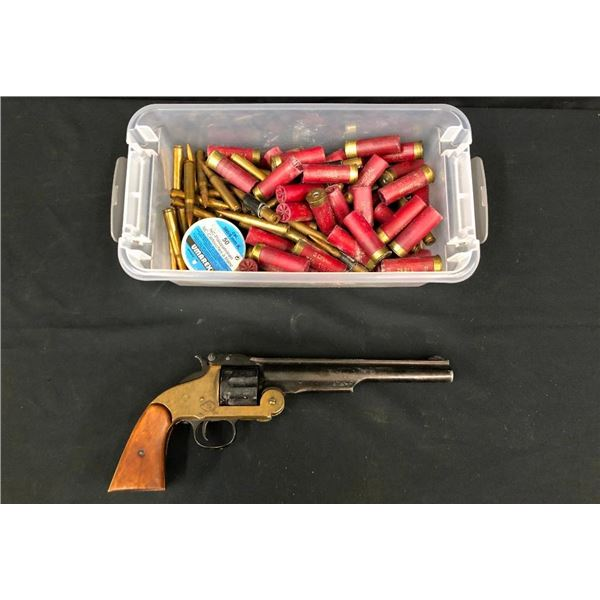Movie Used Prop Gun and Ammo