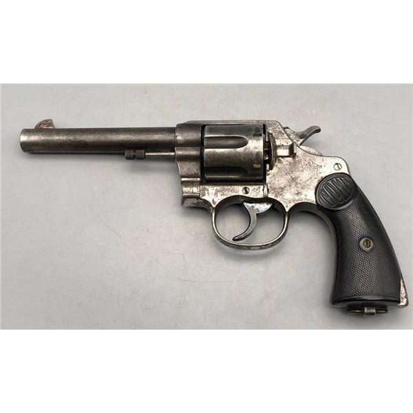 Colt New Service 44-40 double action revolver.