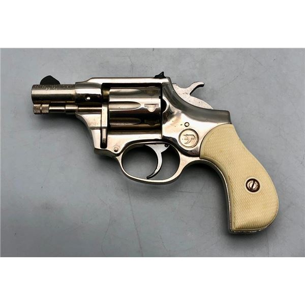 "High Standard ""Sentinel"" .22 Cal Revolver With Original Box"