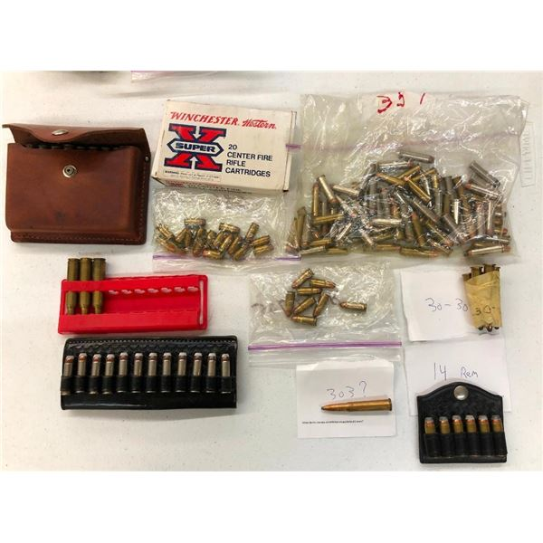 Miscellaneous Rifle and Pistol Ammo - Mixed