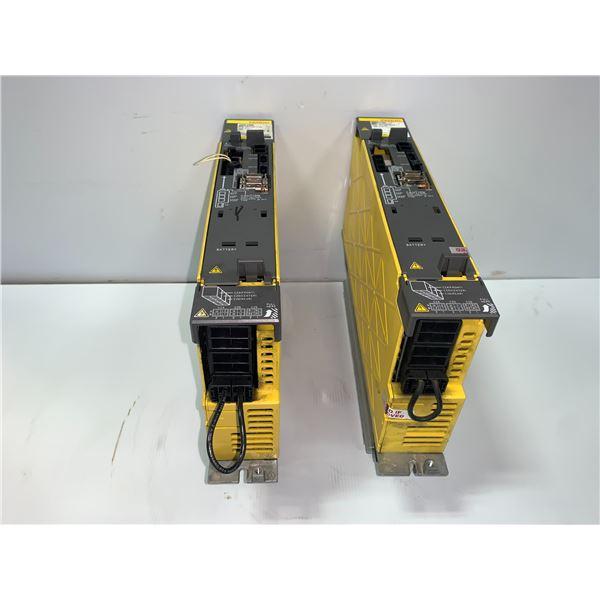 (2) - FANUC A06B-6131-H001 BiSV 10HV DRIVES