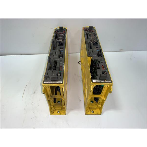 (2) - FANUC A02B-0265-B501 SERIES 16i-TA DRIVES WITH A16B-3200-0320/11F CARDS