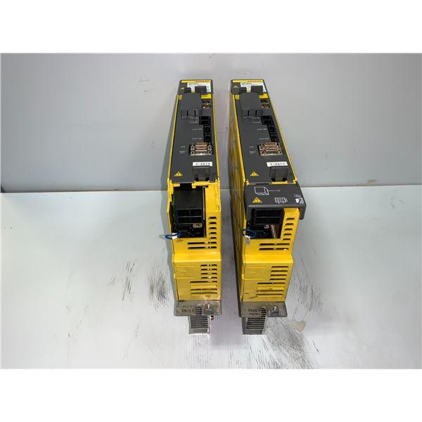 (2) - FANUC A06B-6127-H105 SERVO DRIVE