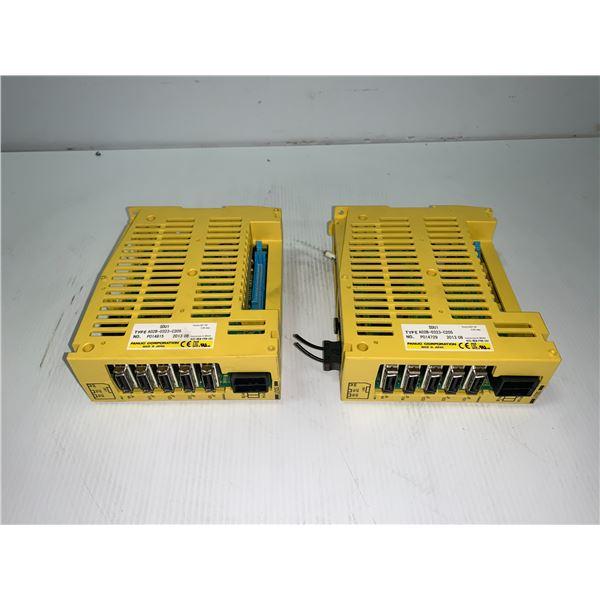 (2) - FANUC A02B-0323-C205 SDU1 MODULES