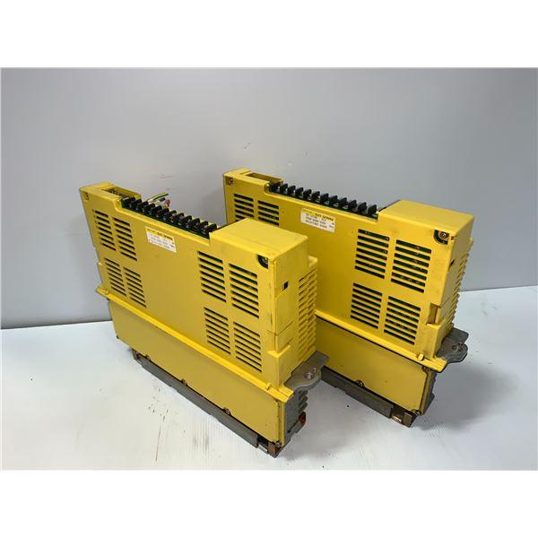 (2) - FANUC A06B-6066-H004 SERVO AMPLIFIERS