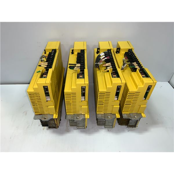 (4) - FANUC A06B-6066-H006 SERVO AMPLIFIER UNITS