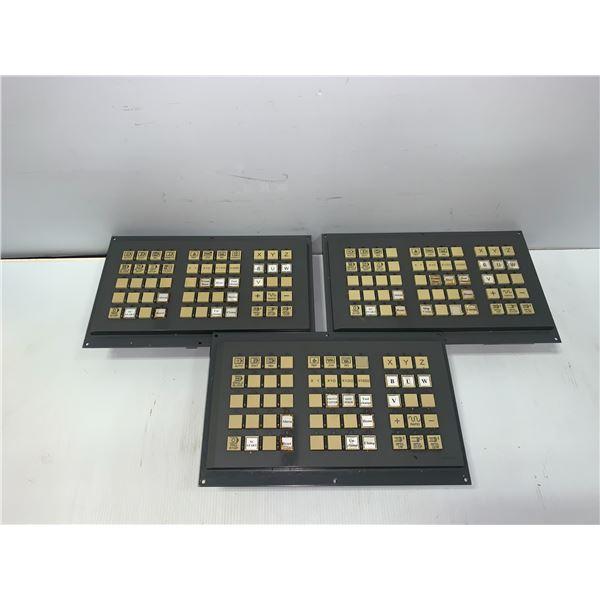 (3) - FANUC A02B-0236-C243 OPERATORS PANEL_BOARD # A20B-8002-0020/05B