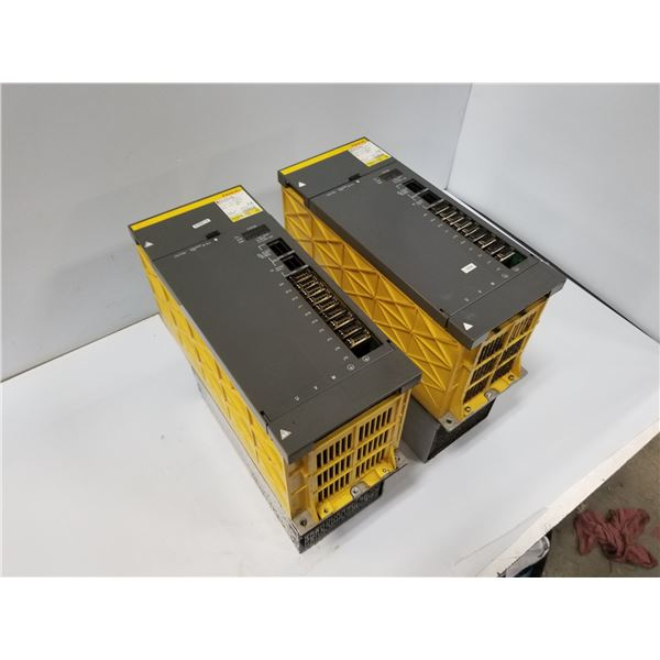 (2) FANUC AO6B-6088-H222#H500 SPINDLE AMPLIFIER MODULE