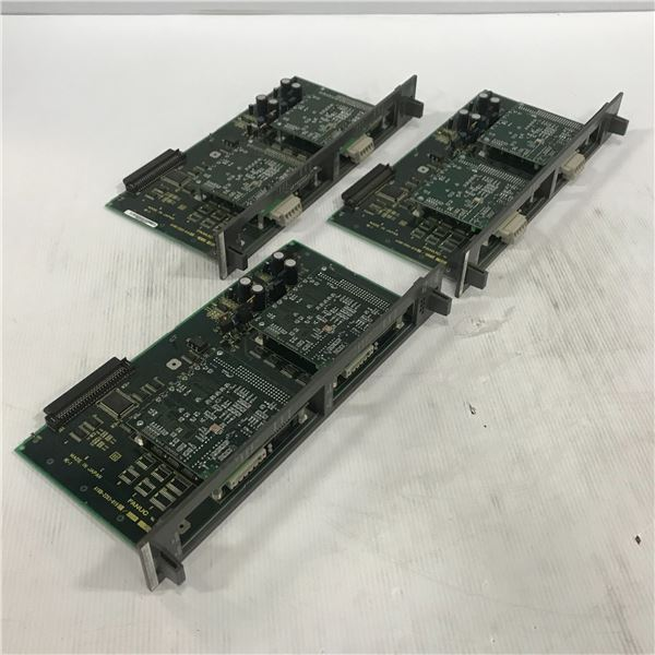 (3) FANUC A16B-2203-0190/03 CIRCUIT BOARDS