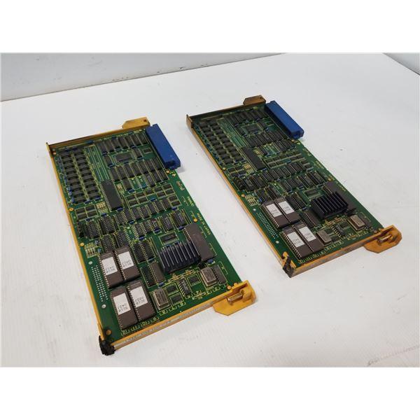 (2) FANUC A16B-2200-0150 GRAPHIC CPU CIRCUIT BOARD