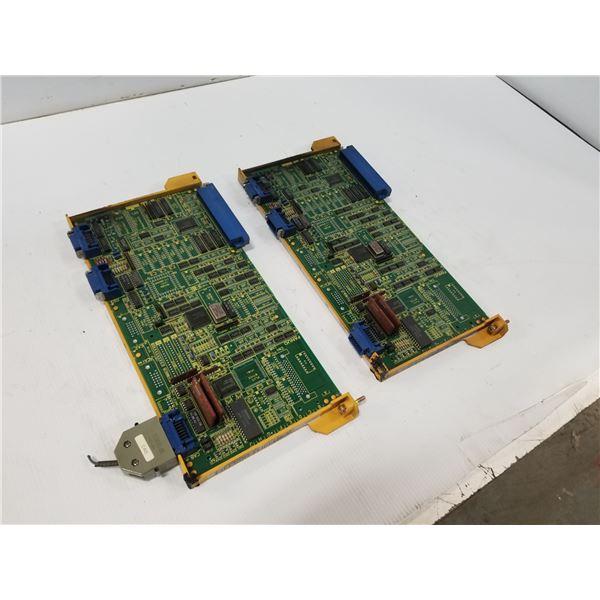 (2) FANUC A16B-2200-0171 SERIAL PORT CIRCUIT BOARD