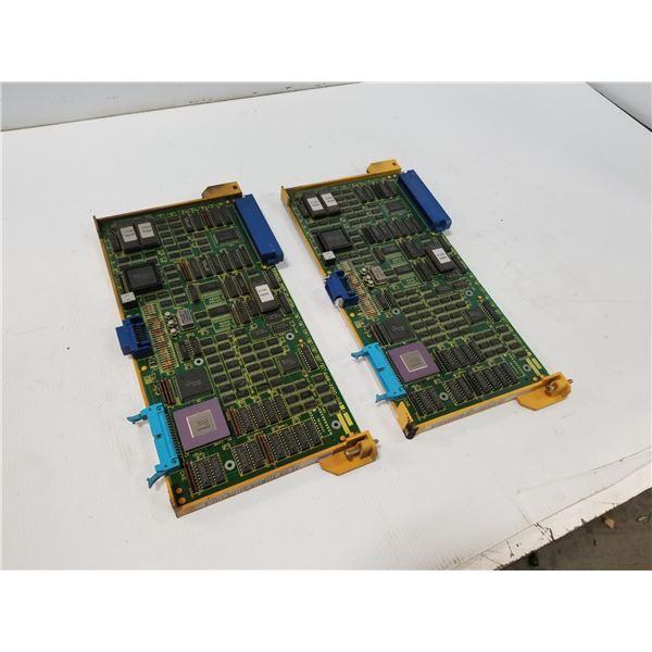 (2) FANUC A16B-2200-0161 GRAPHICS CPU CIRCUIT BOARD