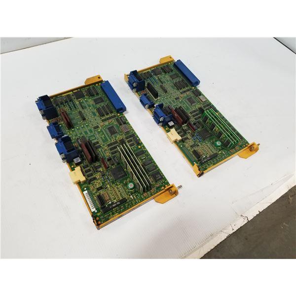(2) FANUC A16B-2200-0121 CONTROL CIRCUIT BOARD