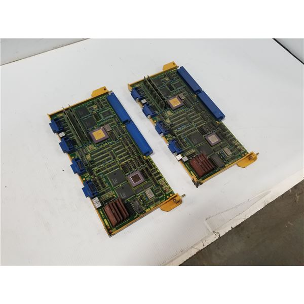 (2) FANUC A16B-2200-0081 CIRCUIT BOARD