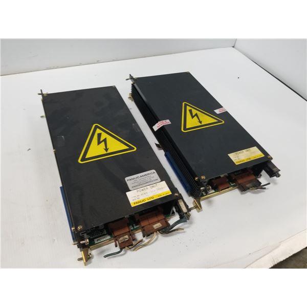 (2) FANUC A16B-1211-0850 POWER UNIT