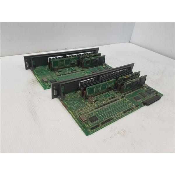 (2) FANUC A16B-220-0930 OPTION CIRCUIT BOARD