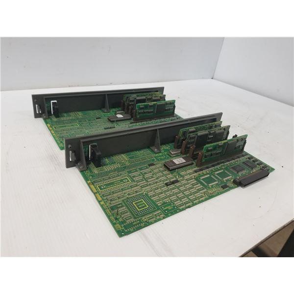(2) FANUC A16B-220-0910 CIRCUIT BOARD