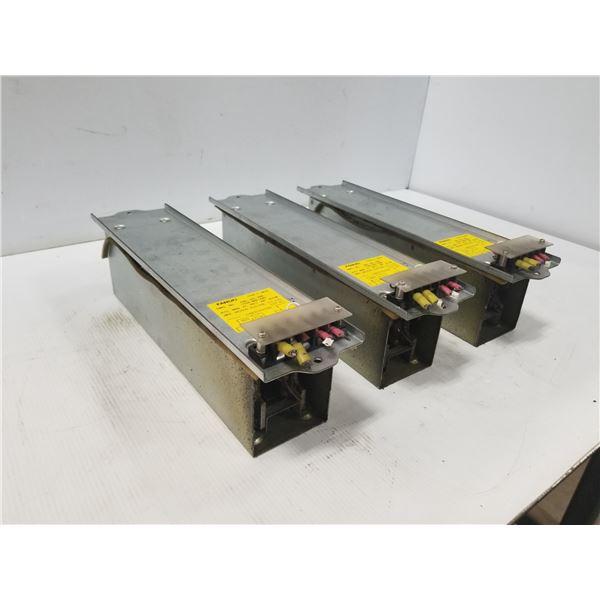 (3) FANUC A40L-0001-0328 DISCHARGE RESISTOR UNIT
