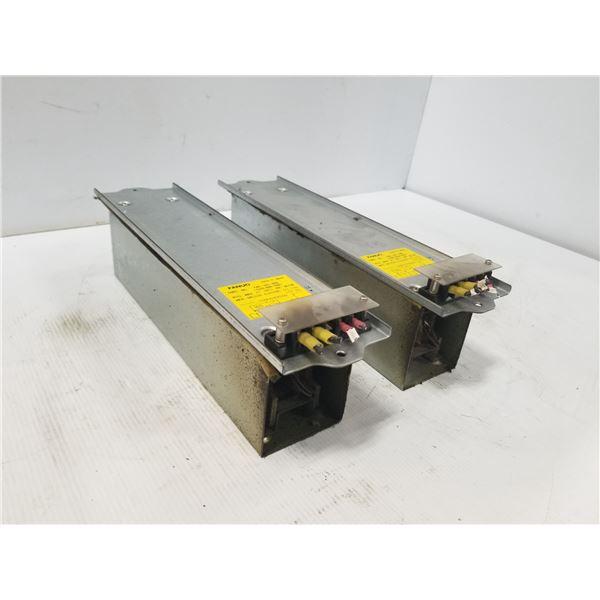 (2) FANUC A40L-0001-0328 DISCHARGE RESISTOR UNIT