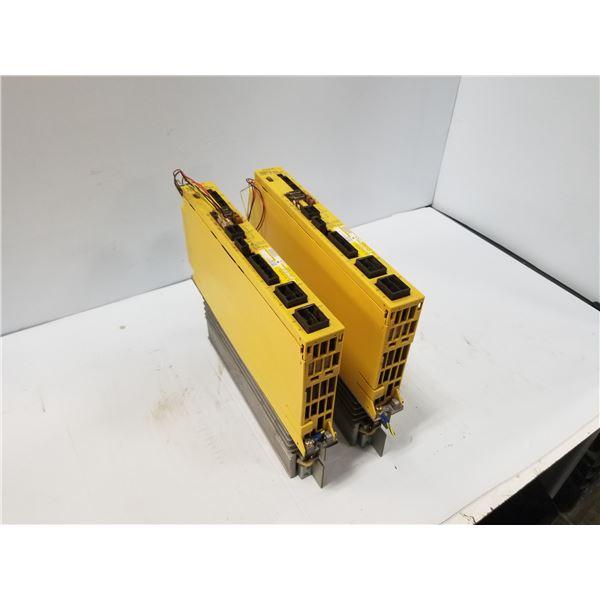 (2) FANUC A06B-6093-H113 SERVO AMPLIFIER
