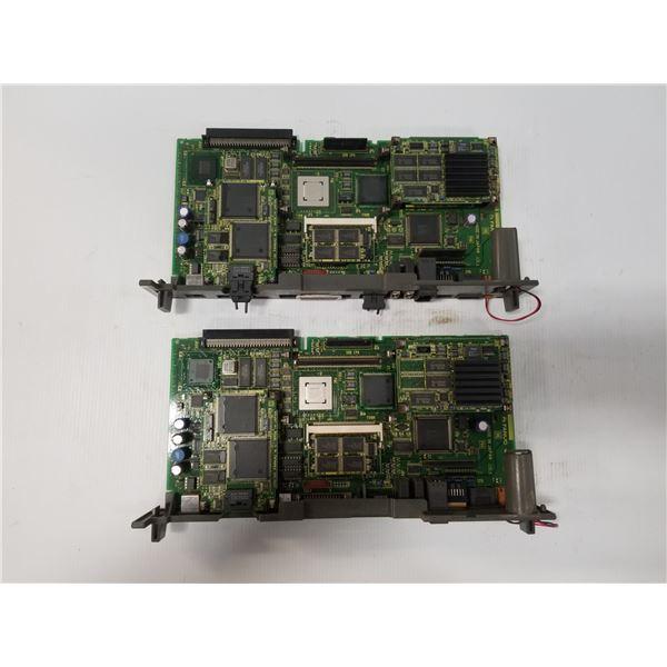 (2) FANUC A16B-3200-0330/17G MAIN CPU CIRCUIT BOARD
