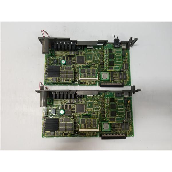 (2) FANUC A16B-3200-0412/03A CPU CIRCUIT BOARD