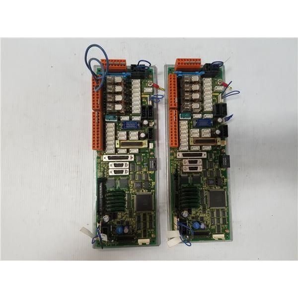 (2) FANUC A20B-2100-0470/07G CONTROL CIRCUIT BOARD
