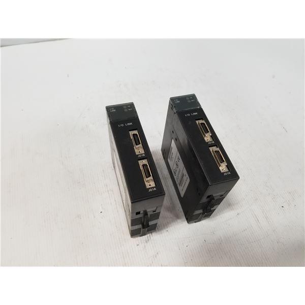 (2) GE FANUC 1C693BEM320E I/O LINK MODULES