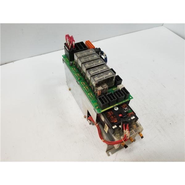 FANUC A05B-2400-C453 E-STOP UNIT W/ FUJI EA33 CIRCUIT BREAKER