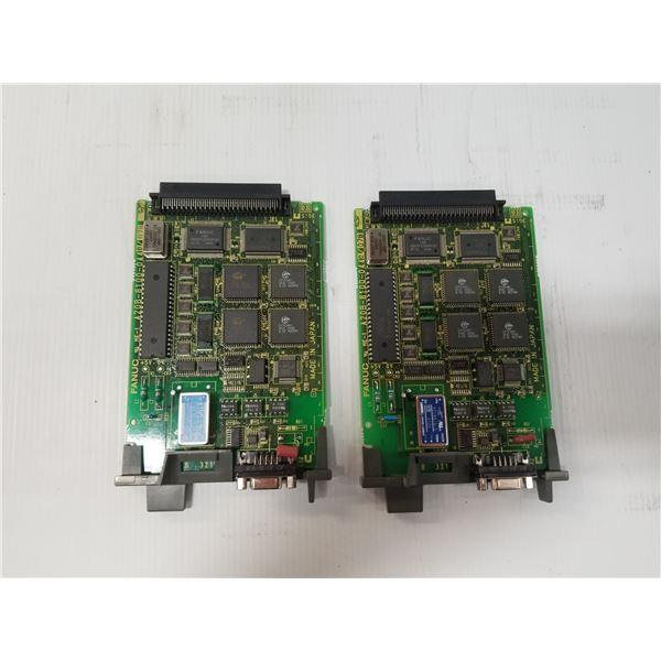 (2) Fanuc A20B-8100-0440 Control Board