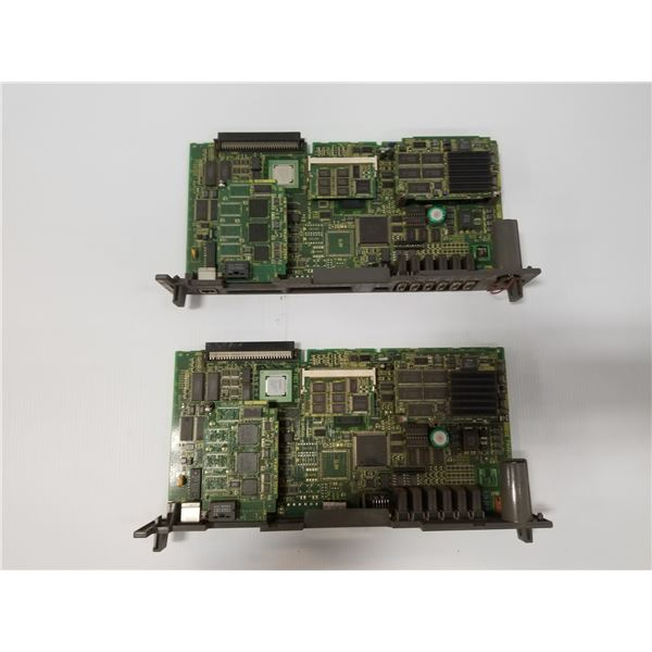 (2) FANUC A16B-3200-0412 CPU BOARD