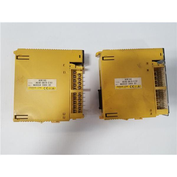 (2) FANUC A03B-0819-C161 MODULE