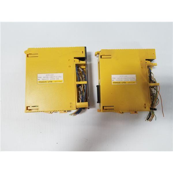 (2) FANUC A03B-0807-C154 MODULE