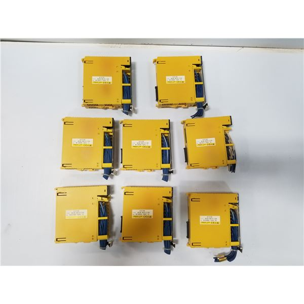 LOT OF (8) FANUC A03B-0819-C104 I/0 MODULES