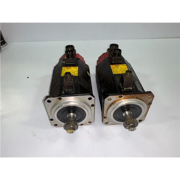 (2) - FANUC A06B-0162-B175 AC SERVO MOTORS