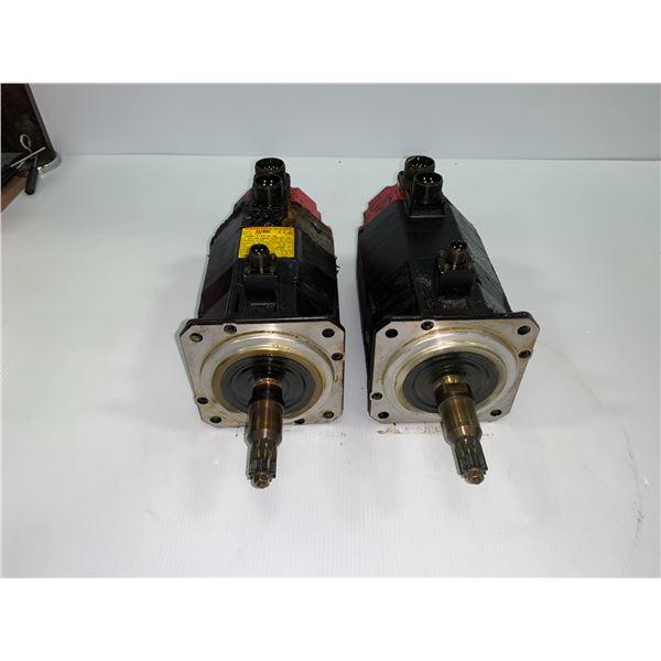 (2) - FANUC A06B-0123-B175 AC SERVO MOTORS